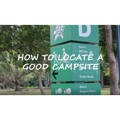 How To Locate A Good Camping Spot